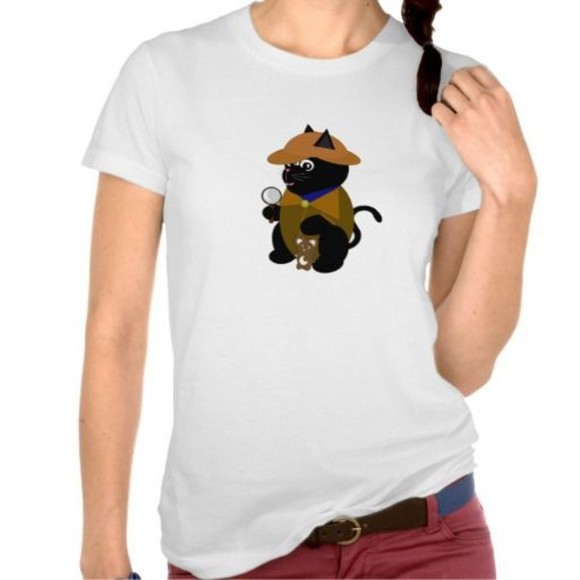 cats shirt shirts t-shirt funny shirts cute shirts sherlock holmes lol cats tshirt fandoms