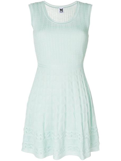 M Missoni dress mini dress knitted mini dress mini women wool green