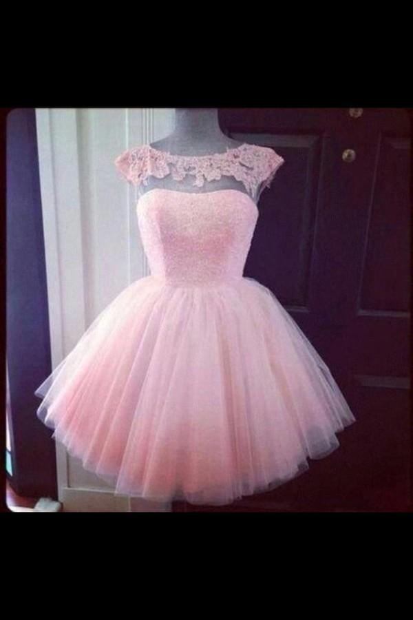 dress pink prom dress sprakles