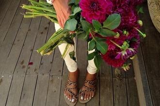 shoes flat sandals nude sandals leopard print