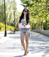 petit and sweet couture,shorts,bag,shoes,jewels,sunglasses