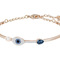 Swarovski | duo evil eye bangle