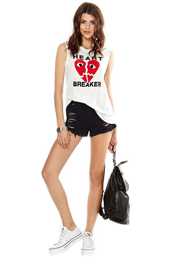 t-shirt summer outfits streetstyle stylemoi bag vest white vest