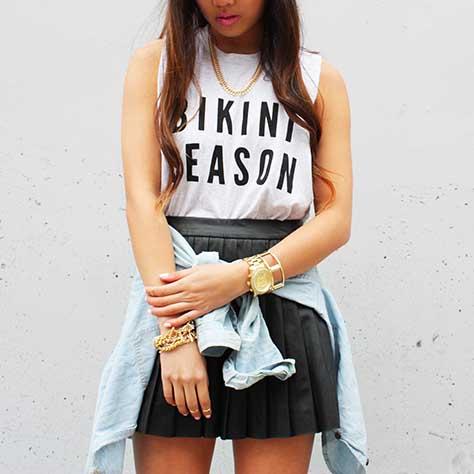 Bikini Season shirts by Kkarmalove