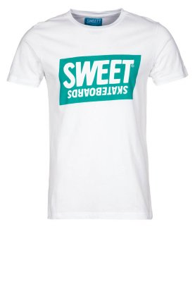 T Shirt Zalando Skateboards Base Print co White uk Sweet Official 0wO8nmvN