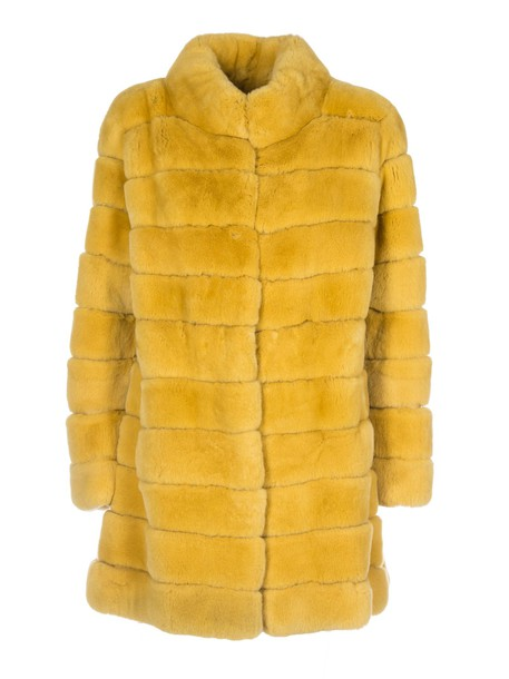 Violanti coat yellow