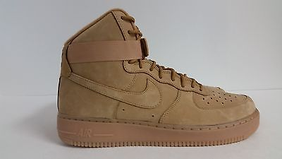 the latest 66bb9 e1cb1 Men s Nike Air Force 1 High 07 LV8 Flax Wheat 806403 200 Size 13 DS   eBay