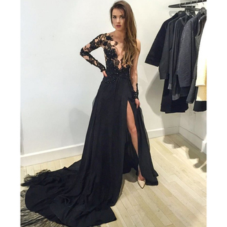 dress prom prom dress maxi dress maxi long long dress black black dress fashion fashionista style stylish cute sexy sexy dress tulle dress floral flowers lace lace dress