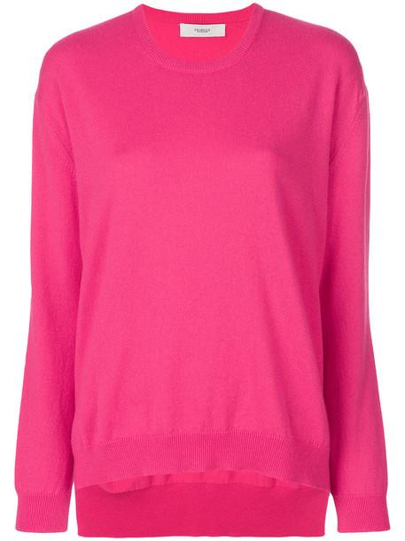 PRINGLE OF SCOTLAND sweater women purple pink