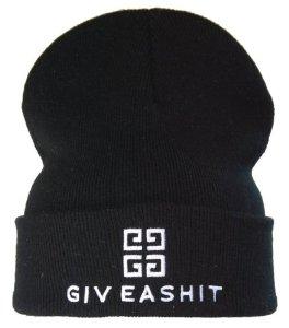 Amazon.com: giveashit Beanie Hat, Black/white: Everything Else