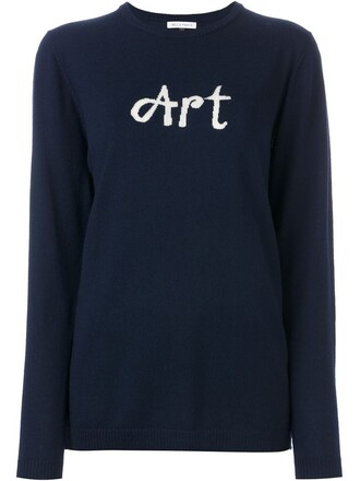 jumper blue sweater