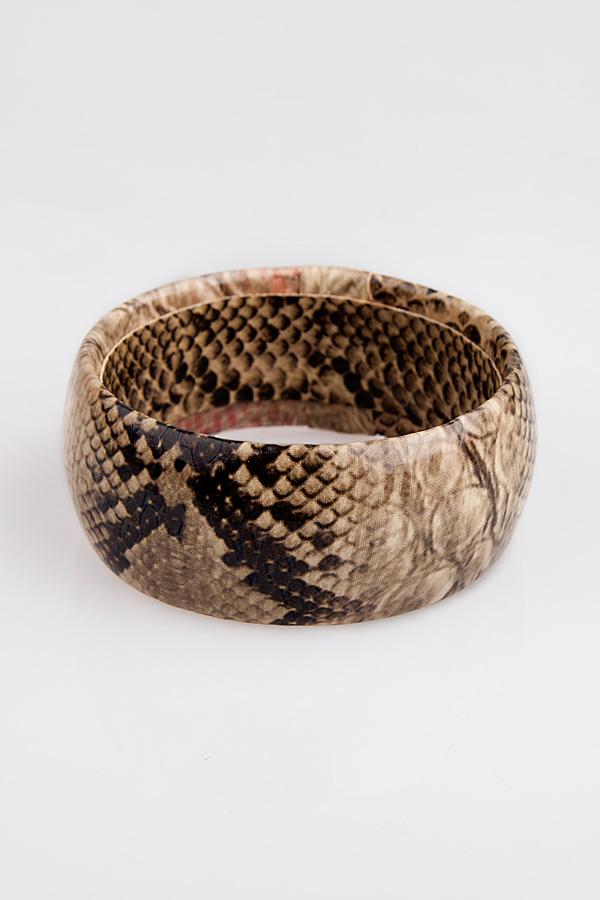 Snake Skin Printing Bangle - OASAP.com