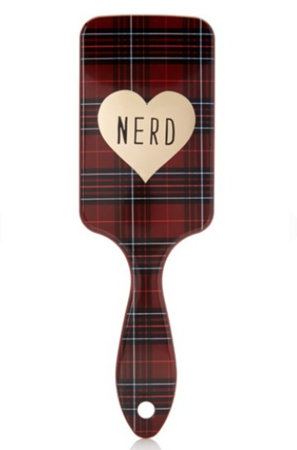 hair accessory nerd hair accessory tartan heart hipster wishlist
