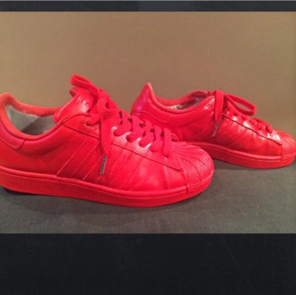 0e7d8b7c7bc85 shoes adidas adidas superstars adidas shoes adidas originals red tumblr