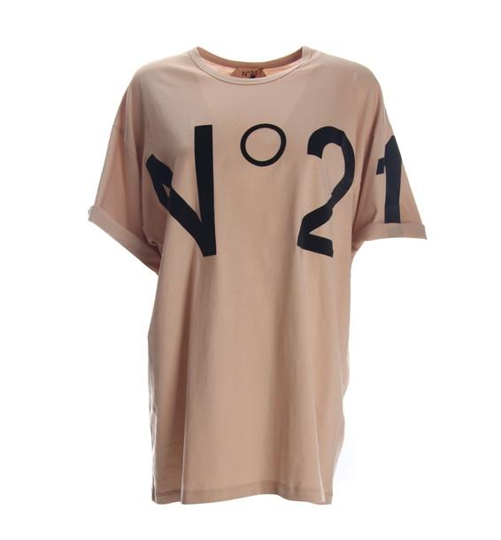 N.21 t-shirt shirt pink t-shirt t-shirt pink top
