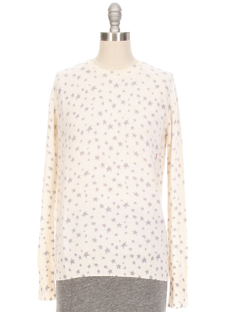 Sloan Star Print Cashmere Sweater