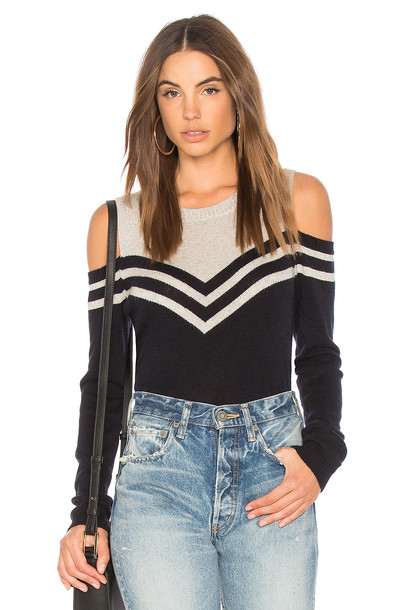 sweater cold navy