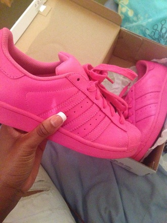 shoes shoe adidas adidas shoes pink adidas pink shoes all pink