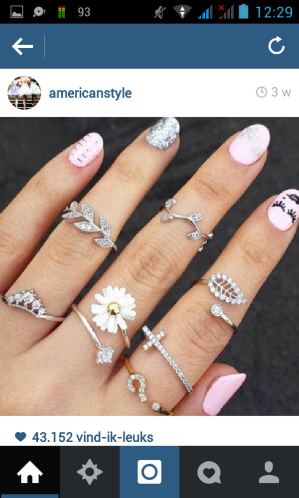 jewels jewelry rings jewelry flowers gold silver ring