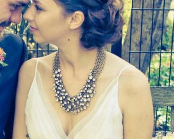 necklace romantic jewels