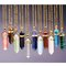 Luck crystal stone pendant necklace - 11 colors