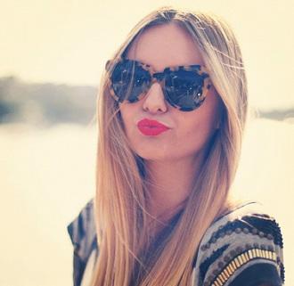 sunglasses leopard print lunette de soleil