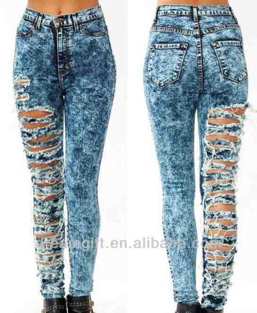 jeans without rips dark washed high waisted jeans