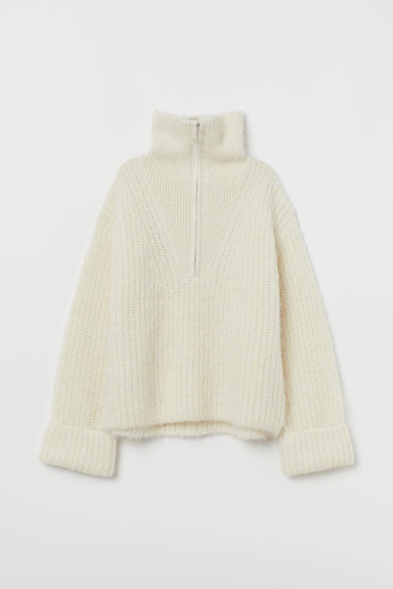 Chunky-knit Wool Sweater