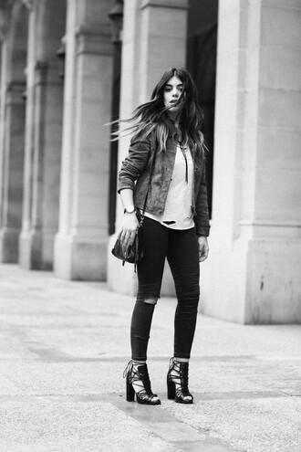 dulceida blogger jacket shirt pants bag shoes jewels