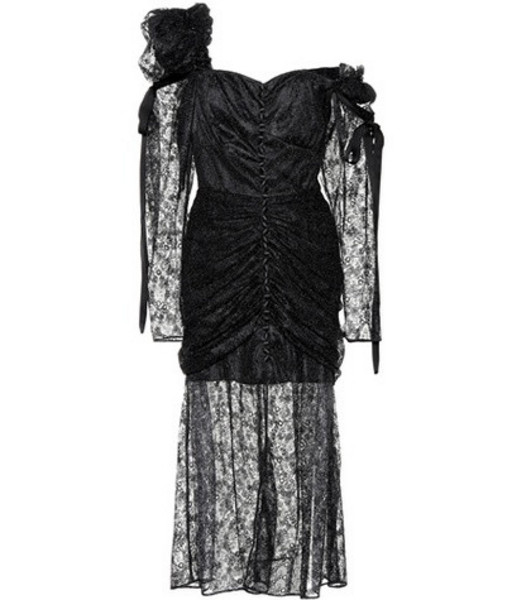 Magda Butrym Haman lace dress in black