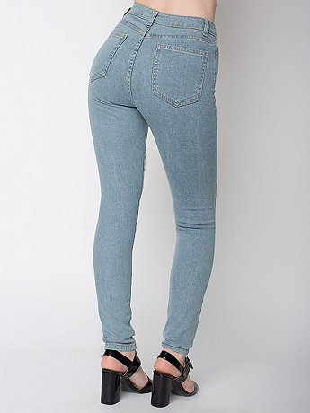 Stretch Denim Pencil Pant | American Apparel