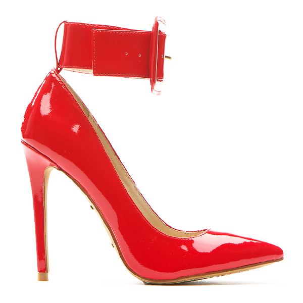 ZigiNY PAULINE Pump IN Red Patent Leather – FLYJANE