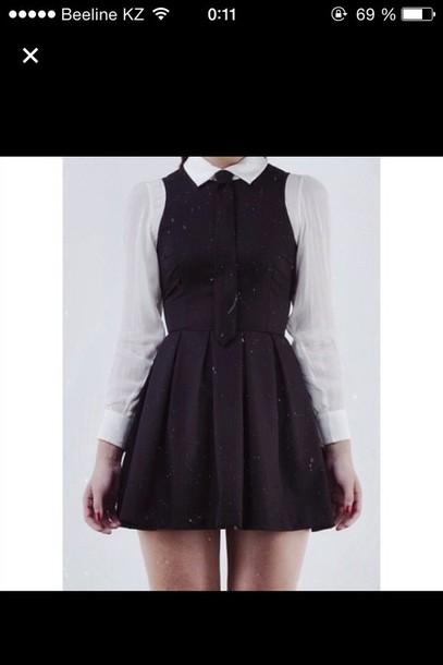 Dress Collared Dress Collar Black Dress School Uniform School