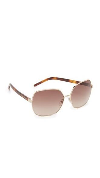 oversized sunglasses oversized sunglasses gold brown