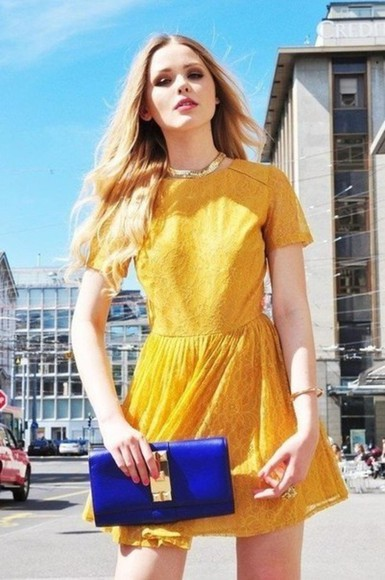 dress yellow dress bag kristina bazan prom dress