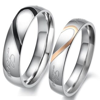 jewels gold silver ring gold rings couples rings