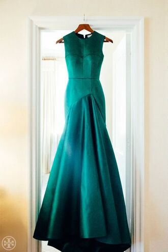 dress formal gown styled skirt formal prom dress fitted bodice formal dress formal dress turquoise turquoise scarf