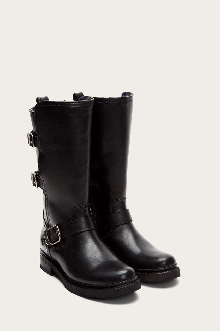 Veronica Shearling Mid Boots