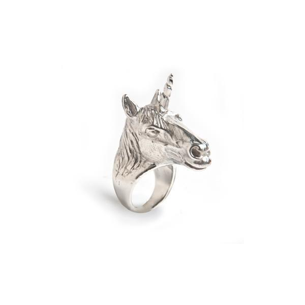 Unicorn Ring (Silver) | LeiVanKash