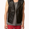 Faux leather moto vest | forever 21 - 2049256910