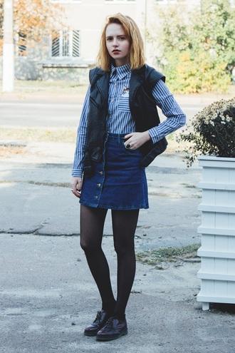 kristina magdalina blogger jacket shirt top coat