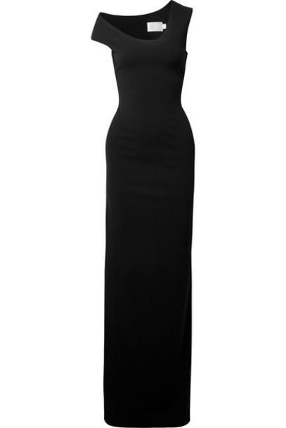 Solace London gown black dress