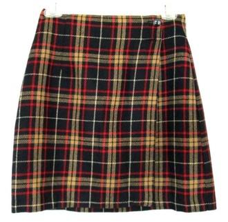 flannel mini mini-skirt