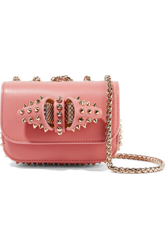 mini sweet bag shoulder bag leather rose