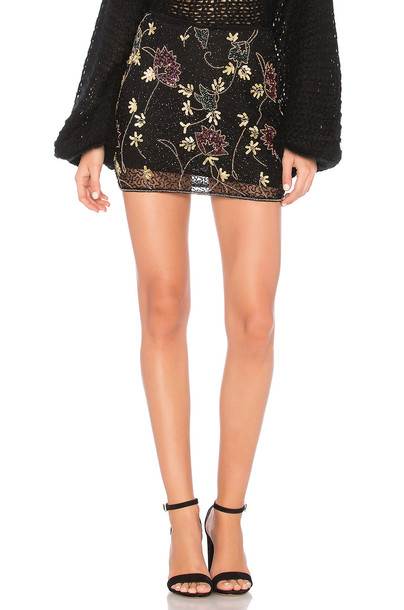 Raga skirt black