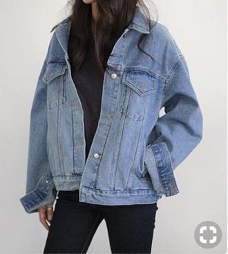 jacket denim jacket denim oversized levi's