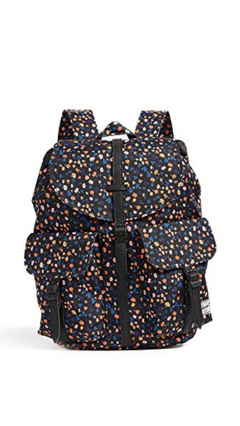 Herschel supply Co. backpack mini floral black bag