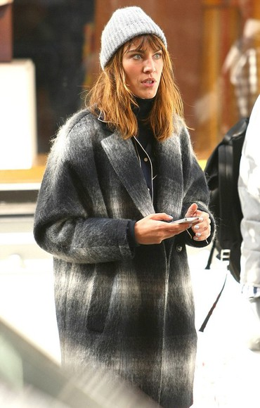 coat fall outfits alexa chung