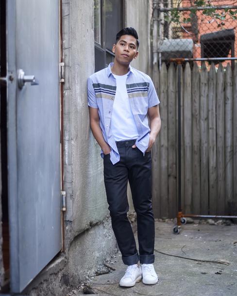 closet freaks blogger shirt t-shirt jeans menswear mens shirt mens pants mens shoes