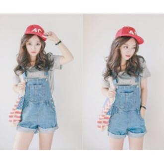 jumpsuit korean overalls one piece cheap denim korean fashion